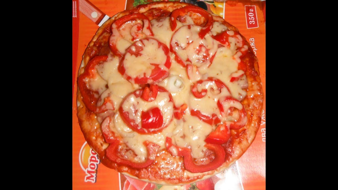 рецепт пиццы с готовых коржей