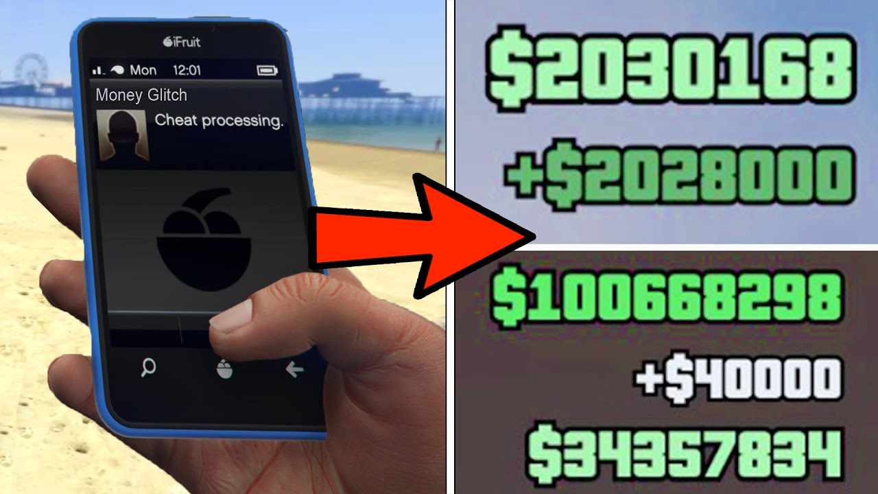 DONT PLAY GTA 5 UNTIL YOU KNOW THIS TRICK!!! (money glitch ...