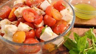 Cherry Tomato Basil Salad Recipe  RadaCutlery.com