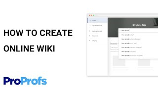 How to Create aฑ Online Wiki for Your Employees