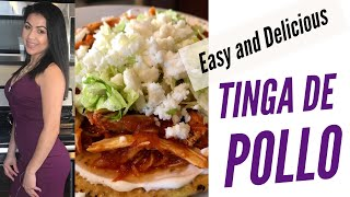 Cooking With Me: How I Make (super easy) Chicken Tinga