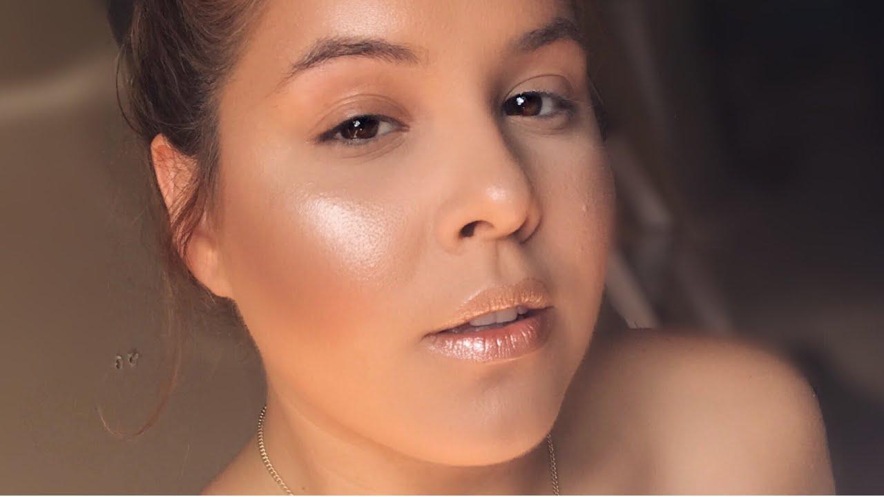 how to achieve glowy skin foundation routine textured skin
