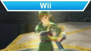 Wii - The Legend of Zelda: Skyward Sword Harp Trailer
