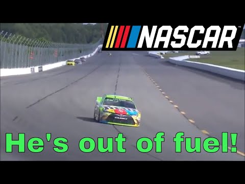 Greatest Fuel Mileage Finishes in NASCAR