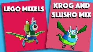 LEGO Mixels - Krog And Slusho Mix - Stop Motion Build (How to Build)