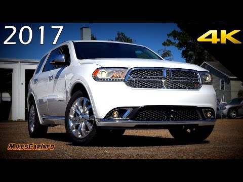 2017 Dodge Durango Citadel - Ultimate In-Depth Look in 4K