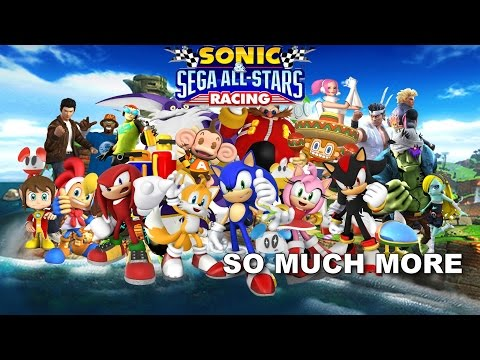 [SONIC KARAOKE] Sonic & Sega All-Stars Racing - So much more (Bentley Jones) [WATCH IN HD]