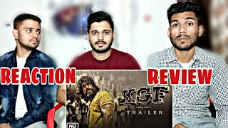 KGF TRAILER REACTION AND REVIEW | YASH | M BROS INDIA
