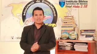 Bienvenidos al Curso de Inducción - Instituto Bíblico Apostólico del Nombre Virtual Hechos 2:38