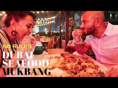 DUBAI - BEST SEAFOOD MUKBANG RESTAURANT