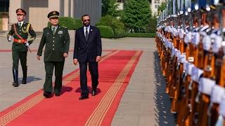 أخبار عربية - #الصين و #الإمارات تؤكدان رغبتهما فى تعزيز التعاون العسكري