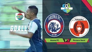 Goal Dendi Santoso - Arema FC (2) vs (0) Perseru Serui | Go-Jek Liga 1 Bersama Bukalapak