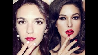 Monica Bellucci inspired makeup tutorial    EASY! Thumbnail