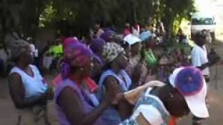Traditional dancing at Bushbuckridge part two of two