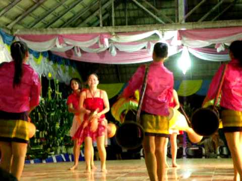 Traditional Thai dancing in Khon Kaen (issan)