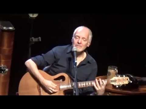 Peter Frampton LINES ON MY FACE Acoustic 10/14/15 BergenPAC Englewood, NJ