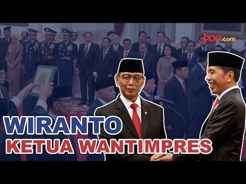 Sah, Jokowi Tunjuk Wiranto sebagai Ketua Wantimpres 2019-2024