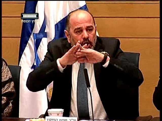 ערוץ הכנסת - עימות חריף בוועדת חינוך סביב ביקורי ארגון שוברים שתיקה בבתי ספר, 28.12.16