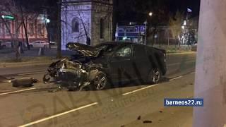 Нетрезвый водитель стал виновником смертельного ДТП в Барнауле