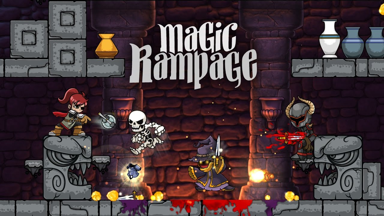 Magic Rampage GAMEPLAY TEASER HD
