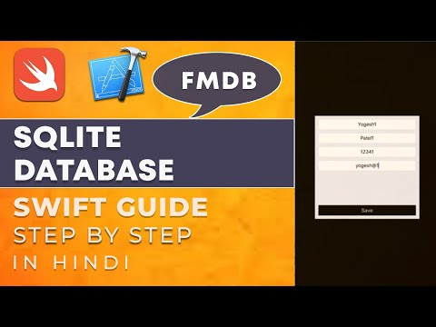 iOS Swift 4 Tutorials :- How to use Sqlite Database Using FMDB in iOS Hindi