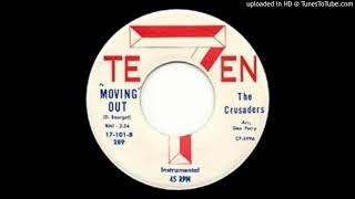 THE CRUSADERS: Movin' Out (7-Teen Records) 1962 ... Massachusetts band