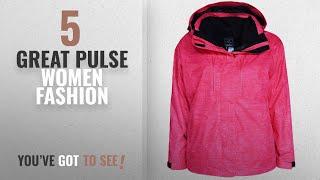 Pulse Women Fashion [2018 Best Sellers]: Pulse Women's Plus Extended Size 3in1 Boundary Snow Ski