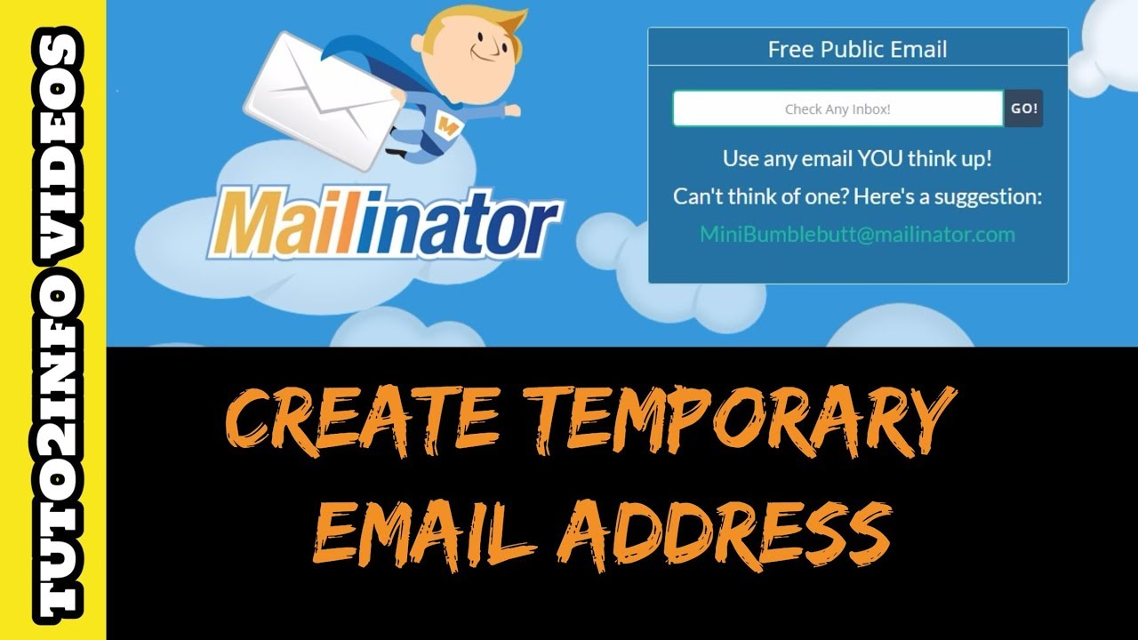 How to Create Temporary Email Address for Account Verification ...