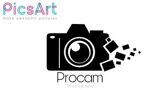 Picsart Logo Making Tutorial - How to make Camera Logo