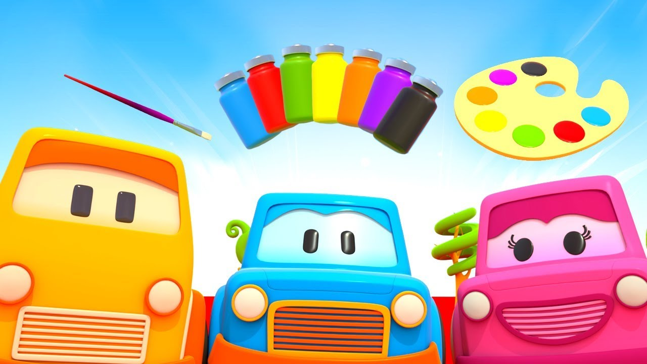 Clever Cars Cartoon Learn Colors With Cars Baby Learning Cartoons