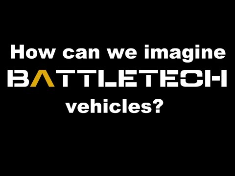 How to imagine vehicles in Battletech |