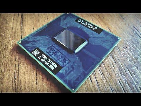 Модернизация ноутбука Toshiba Satellite A200-23U. S01E06. Замена C2D T7500 на T9500. Тесты!)