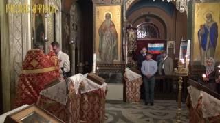 Пасха 2017 в Русской церкви в Афинах . Часть 2