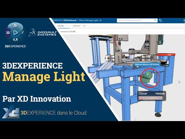 Offre Manage Light - Partage de fichiers SOLIDWORKS avec la 3DEXPERIENCE