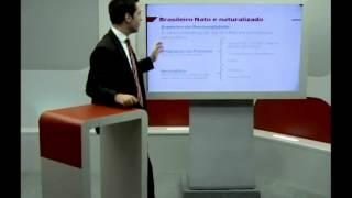 Direito Constitucional: Brasileiro Nato e Naturalizado – Profº Arthur Guerra