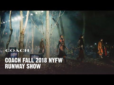 Coach Fall 2018 Runway Show