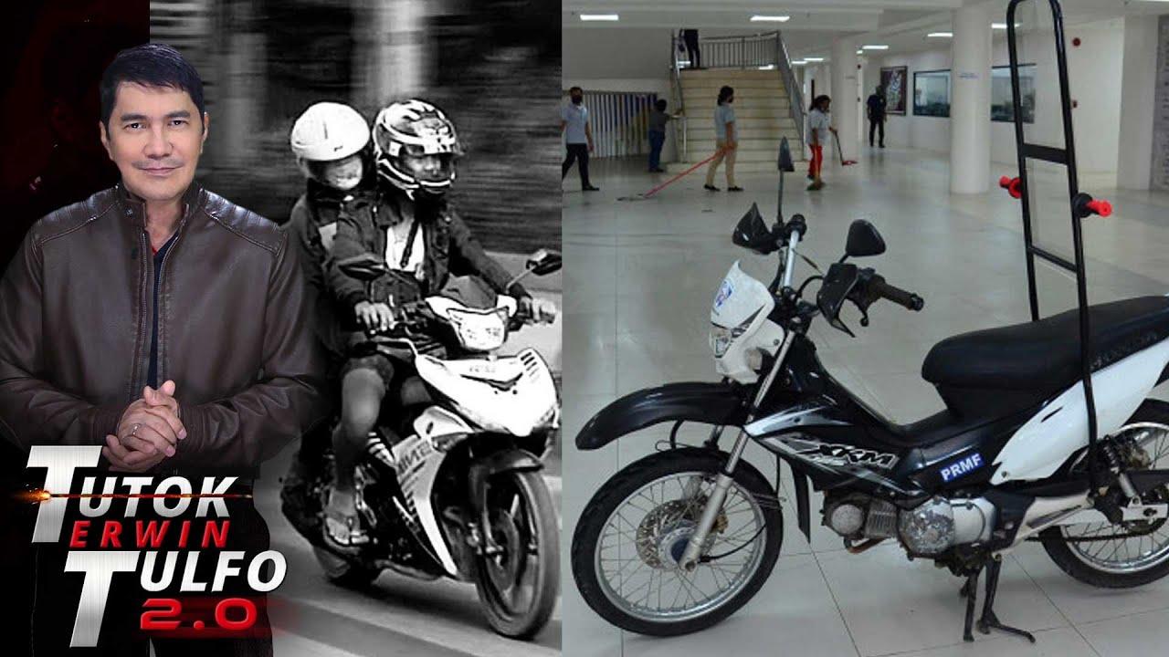 GRUPO NG MGA RIDER HINDI SANG AYON SA PAGLALAGAY NG SHIELD SA MOTOR