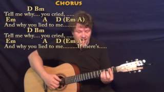 Tell Me Why (Beatles) Fingerstyle Guitar Cover Lesson with Chords/Lyrics