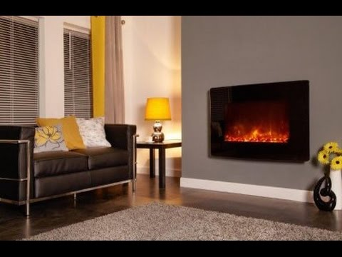 DIY: Installation of curved glass electric fire
