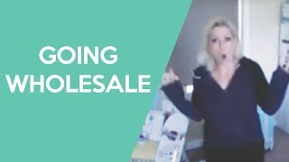Going Wholesale - How to go from retail to wholesale with your handmade business