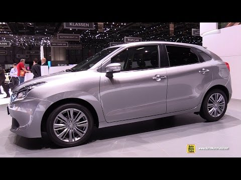 2016 Suzuki Baleno - Exterior And Interior Walkaround - 2016 Geneva Motor Show