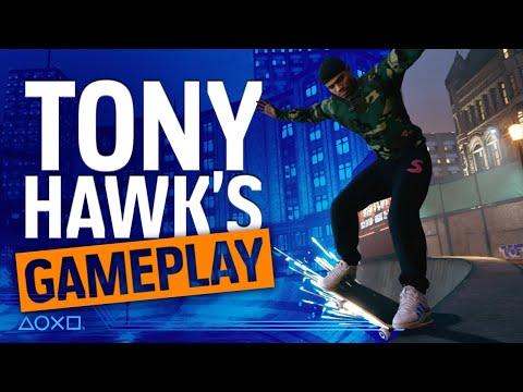 Tony Hawk's Pro Skater 1 & 2 - PS4 Gameplay