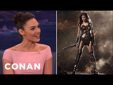 Thumbnail: Gal Gadot Has No Time For Online Haters - CONAN on TBS