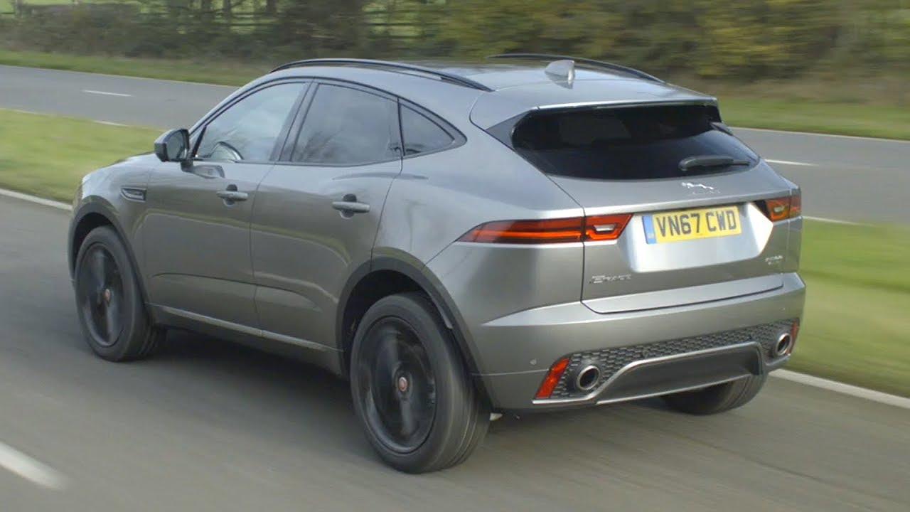 2018 Jaguar E-Pace R-Dynamic HSE   Silicon Silver - YouTube