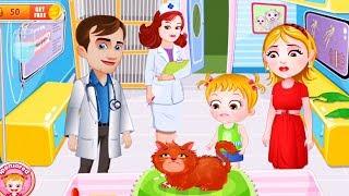 El Tratamiento de un médico gato Pequeño | Mejor Vídeo Divertido Para los Niños | los Niños de dibujos animados Divertidos de Vídeo