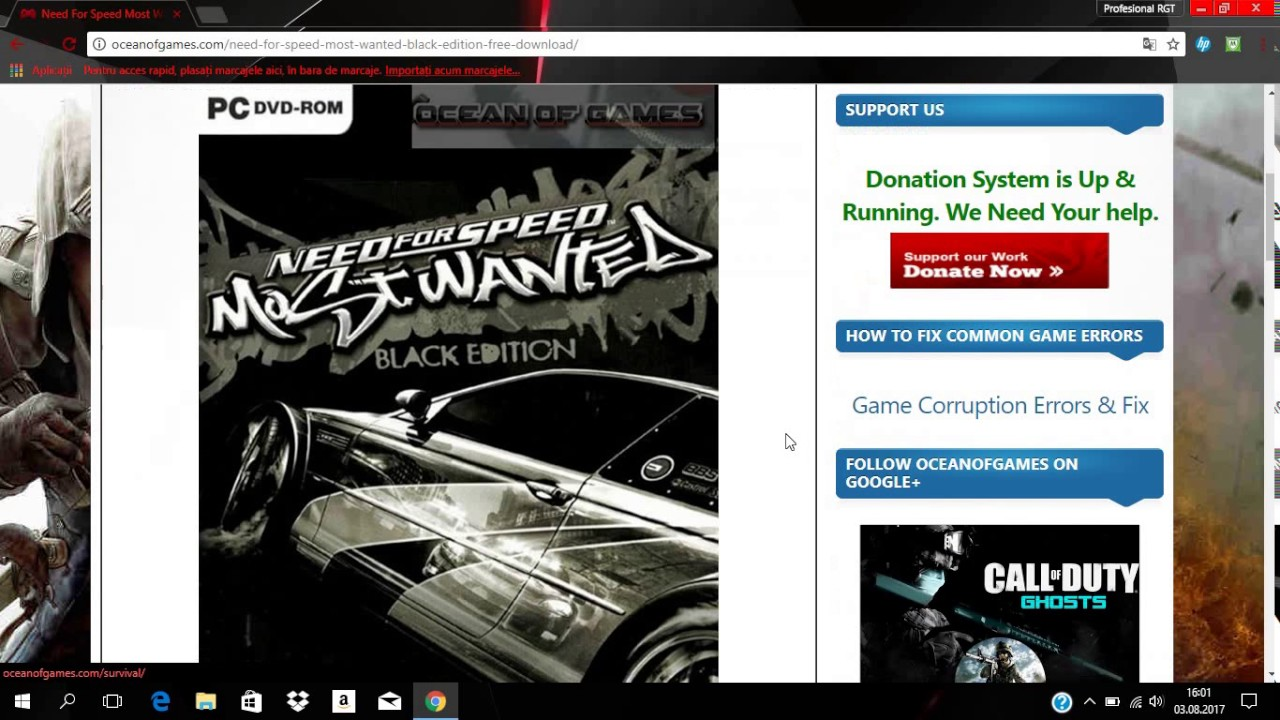 need for speed most wanted free download full version ocean of games