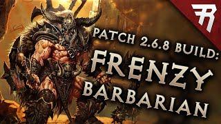 Diablo 3 2.6.8 Barbarian Build: Frenzy GR 138+ (Season 20 Guide)
