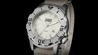 Shark Army Delta Force Khaki Watch 2015