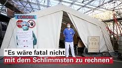 """Intensive Vorbereitungen in der DIAKO Flensburg: """"Wir gehen vom Worst-Case-Szenario aus"""""""