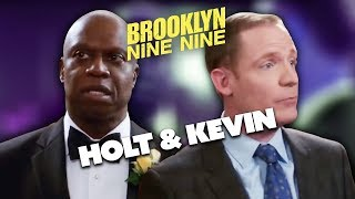 Best of Holt & Kevin (OUR DADS) | Brooklyn Nine-Nine | Comedy Bites